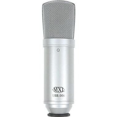 MXL® USB Cardioid Pressure Gradient Condenser Microphone, 20 Hz - 20 kHz