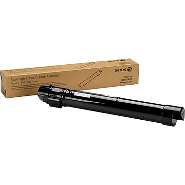 Xerox® 106R01439 Black Toner Cartridge, High Yield