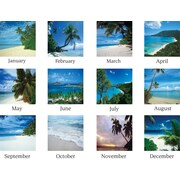 2015 AT-A-GLANCE® Tropical Escape Desk Pad, 22 x 17