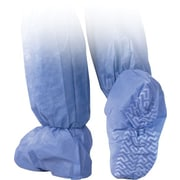 Medline Men XL Non-Skid Multi-Layer Boot Covers, Blue (NON27143XL)