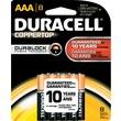 Duracell AAA Alkaline Batteries, 8/Pack