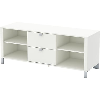 South Shore Sofia TV Stand, White