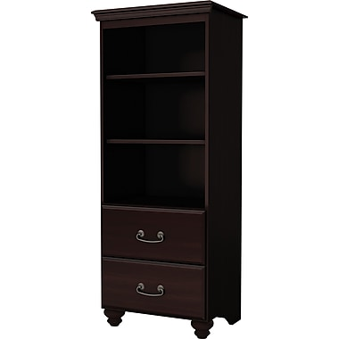 South Shore Laguna Media Tower, Dark Mahogany