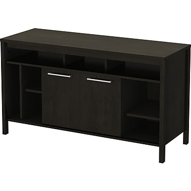 South Shore Andora TV Stand, Ebony