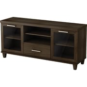 South Shore Villa TV Stand, Matte Brown