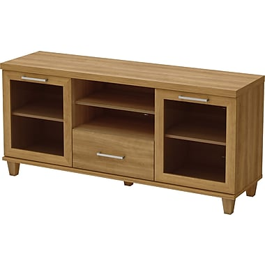 South Shore Villa TV Stand, Harvest Maple