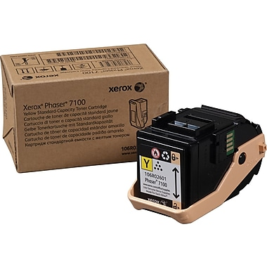 Xerox Phaser 7100 Yellow Toner Cartridge (106R02601)