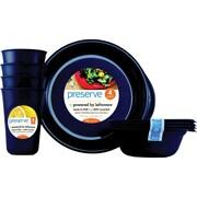 Preserve® Everyday Tableware Set, Midnight Blue, 12-Piece Set