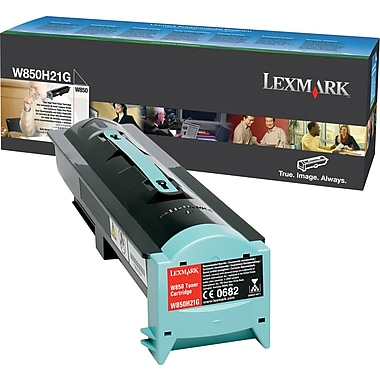 Lexmark™ W850H21G Black Toner, High Yield