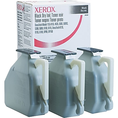 Xerox Black Toner Cartridge (6R206), 3/Pack