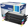 Samsung Color Toner Cartridge (CLT-P409A), 3/Pack