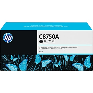 HP 86 Black Ink Cartridge (C8750A), High Yield