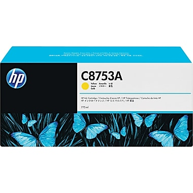 HP CM8050/CM8060 Yellow Ink Cartridge (C8753A), High Yield