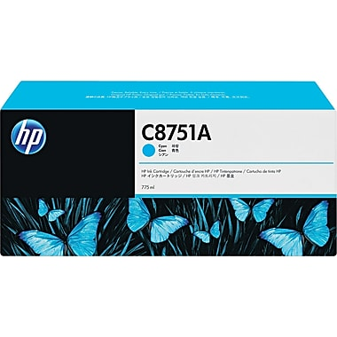 HP CM8050/CM8060 Cyan Ink Cartridge (C8751A), High Yield