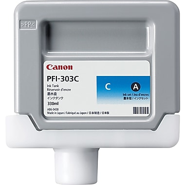Canon PFI-303 Cyan Ink Cartridge (2959B001AA)