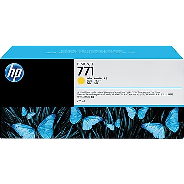 HP 771 Yellow Ink Cartridge (CE040A)