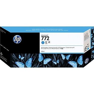 HP 772 Cyan Ink Cartridge (CN636A), Extra High Yield