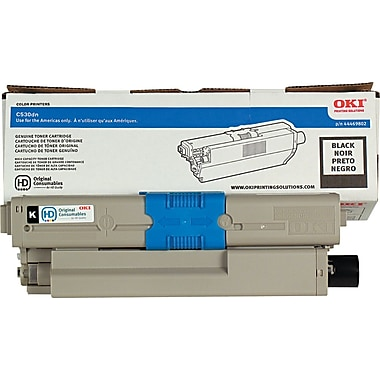 OKI Black Toner Cartridge (44469802), High Yield