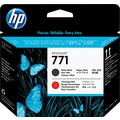 HP 771 Black Matte/Chromatic Red Printhead (CE017A)