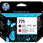 HP 771 Black Matte/Chromatic Red Printhead (CE017A)