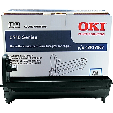 OKI Cyan Drum Unit (43913803)
