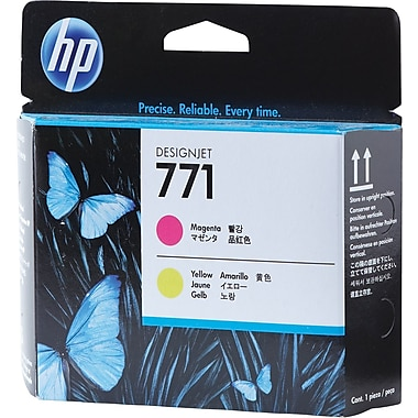 HP 771 Magenta/Yellow Printhead (CE018A)