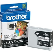Brother Ink Cartridge, Black, High Yield (BRTLC51HYBK)