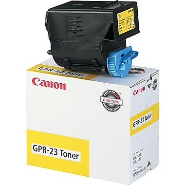Canon GPR23 Yellow Toner Cartridge (0455B003AA), High Yield