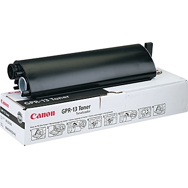 Canon GPR-13 Black Toner Cartridge (8640A003AA), High Yield