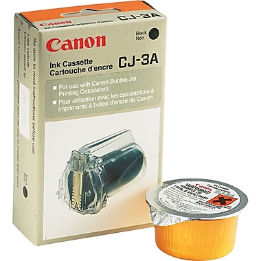 Canon CJ3A Black Ink Cartridge (4196A003)