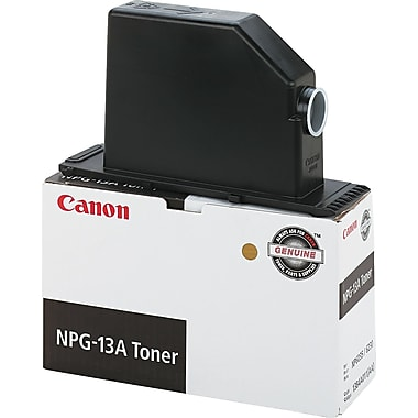 Canon NPG-13 Black Toner Cartridge (1384A003AA), High Yield