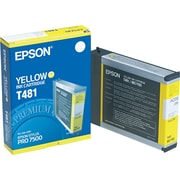 Epson T481 Yellow Ink Cartridge (T481011)