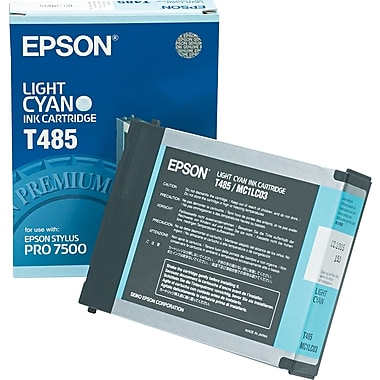 Epson T485011 Light Cyan Ink Cartridge