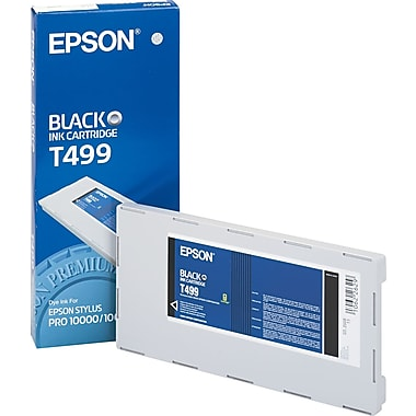 Epson T499 Black Photo Ink Cartridge (T499201)