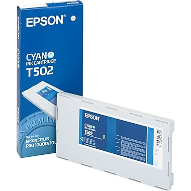 Epson T502 Cyan Photo Ink Cartridge (T502201)