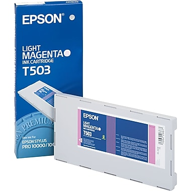 Epson T503 Light Magenta Photo Ink Cartridge (T503201)
