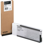 Epson 606 200ml Photo Black UltraChrome Ink Cartridge (T606100), High Yield