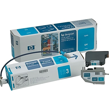 HP C1893A Cyan UV Ink System