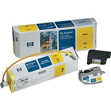 HP DesignJet CP Yellow UV Ink System (C1895A), 410ml