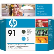 HP 91 Matte Black/Cyan Printhead (C9460A)