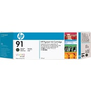 HP 91 Matte Black Ink Cartridge (C9464A), 775ml
