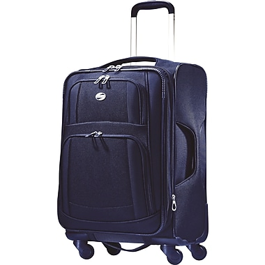 American Tourister iLite Supreme, 21in. Softside Spinner Luggage, Sapphire Blue