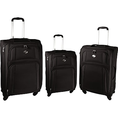 American Tourister iLite Supreme, 21in. Softside Spinner Luggage, Black