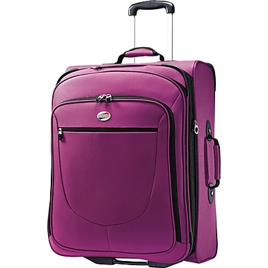 American Tourister Splash 25in. Upright Softside Expandable Luggage, Solar Rose