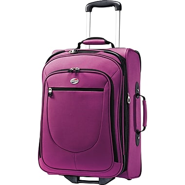 American Tourister Splash 21in. Upright Softside Expandable Luggage, Solar Rose