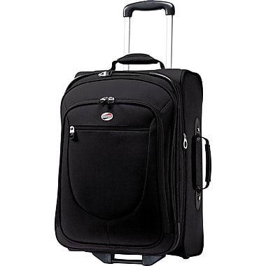 American Tourister Splash 21in. Upright Softside Expandable Luggage, Black