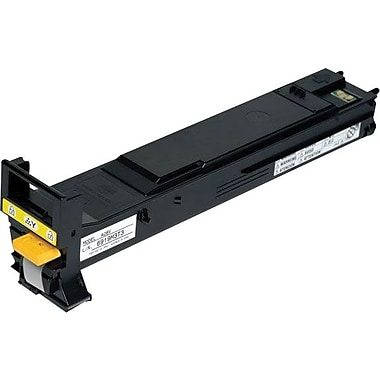Konica Minolta Yellow Toner Cartridge (A06V233), High Yield