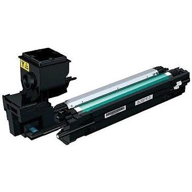 Konica Minolta MC3730 Yellow Toner Cartridge (A0WG07F), High Yield