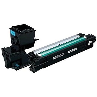 Konica Minolta MC3730 Cyan Toner Cartridge (A0WG0JF), High Yield