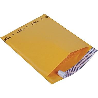 Staples® Kraft Bubble Mailer Envelope #2, 8-1/2